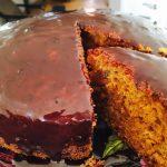 bolo de cenoura com açúcar mascavo