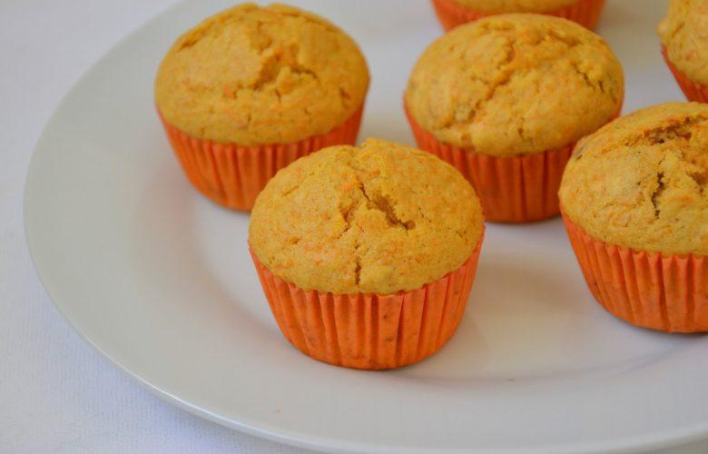 cupcake de cenoura fit