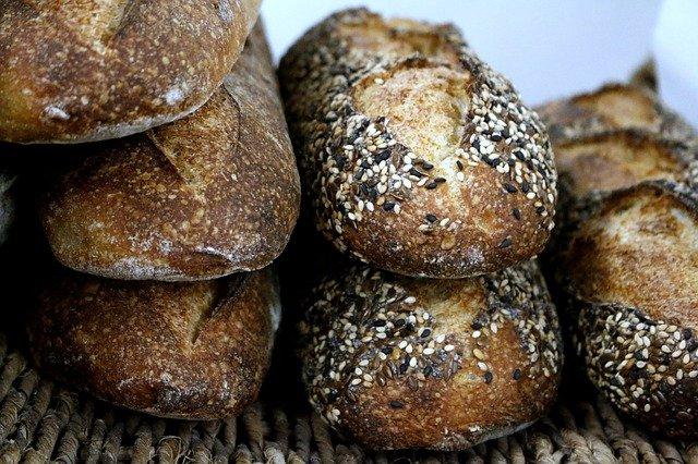 pães com levain